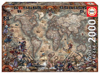 PUZZLE 2000 * MAPA DE PIRATAS 18008