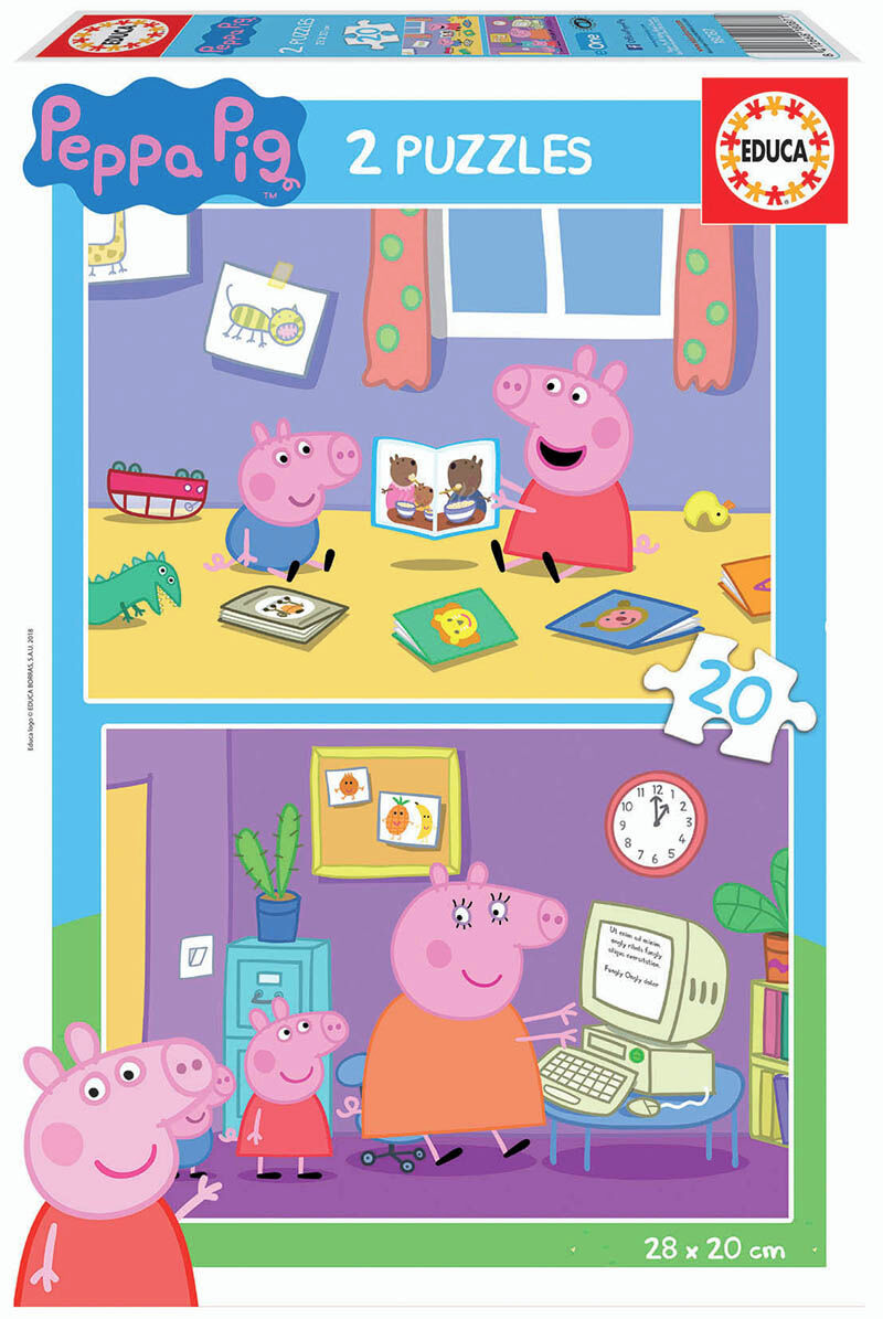 PUZZLE 2x20 * PEPPA PIG