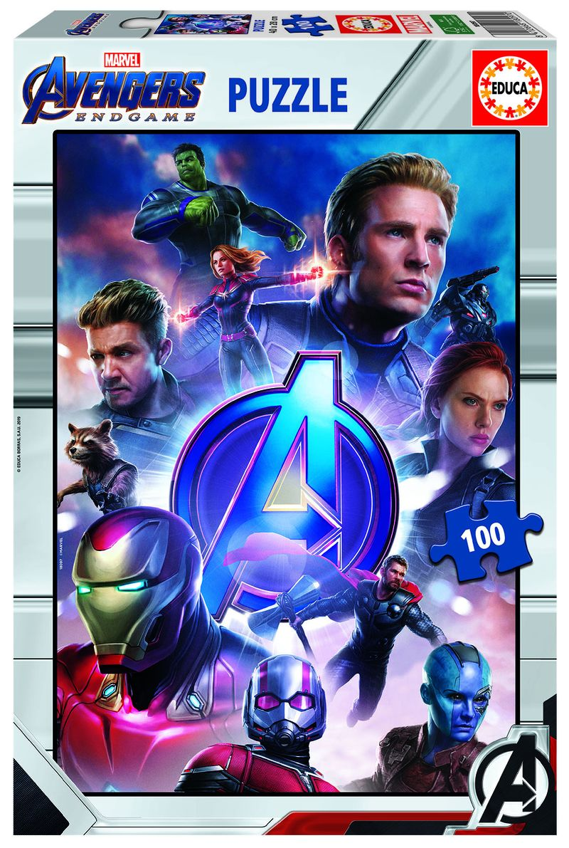 AVENGERS * PUZZLE 100 INFINITY WAR 2 R: 18097