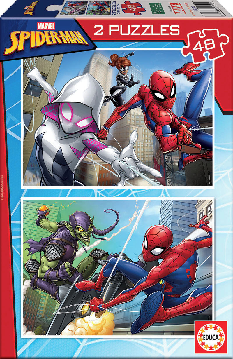 SPIDERMAN * PUZZLE 2x48 R: 18099