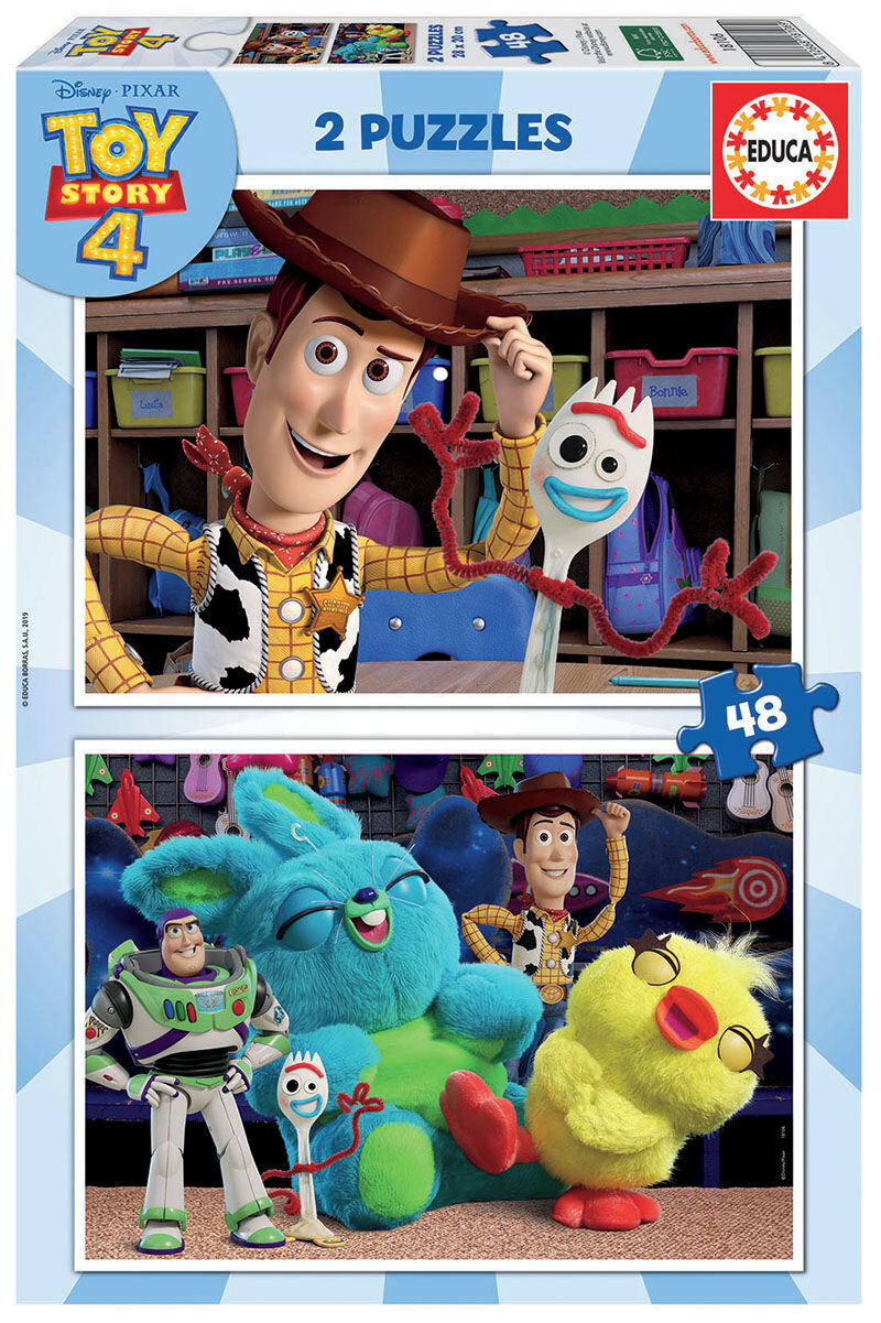 PUZZLE 2x48 * TOY STORY 4 R: 18106