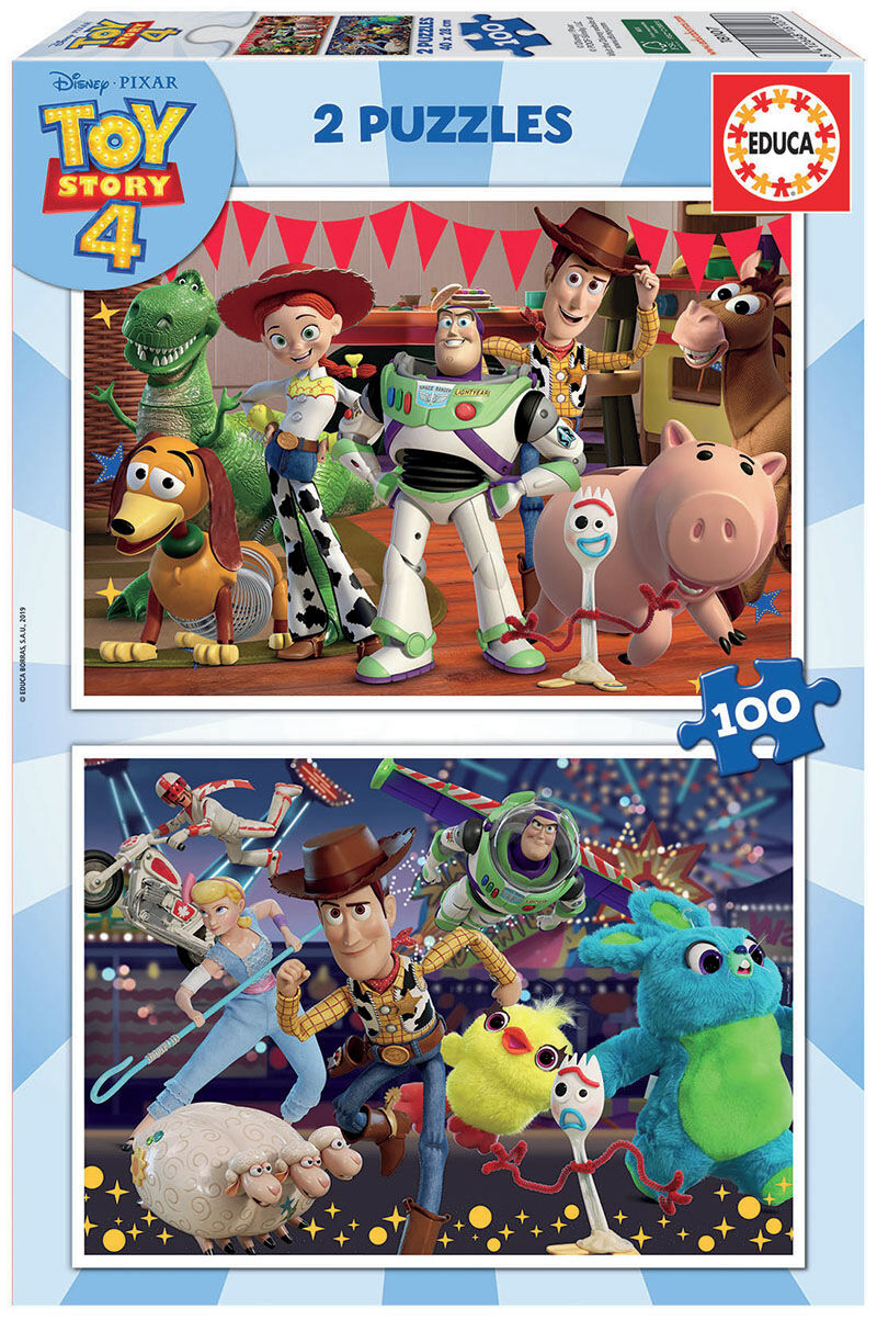 PUZZLE 2x100 * TOY STORY 4