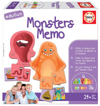 EDUFUN * MONSTERS MEMO R: 18126