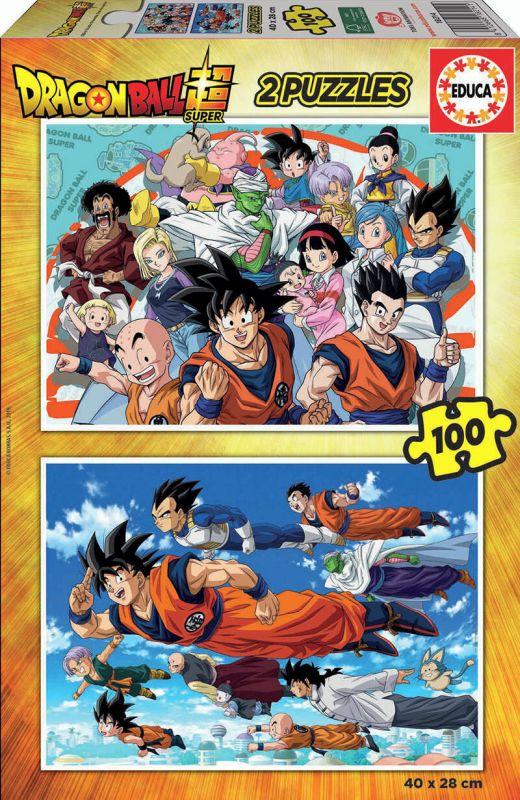 Dragon Ball * Puzzle 2x100 R: 18214 -