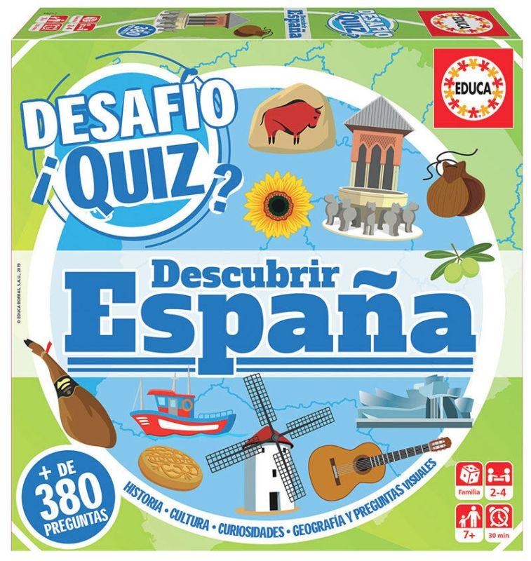 Desafio Quiz * Descubrir España -