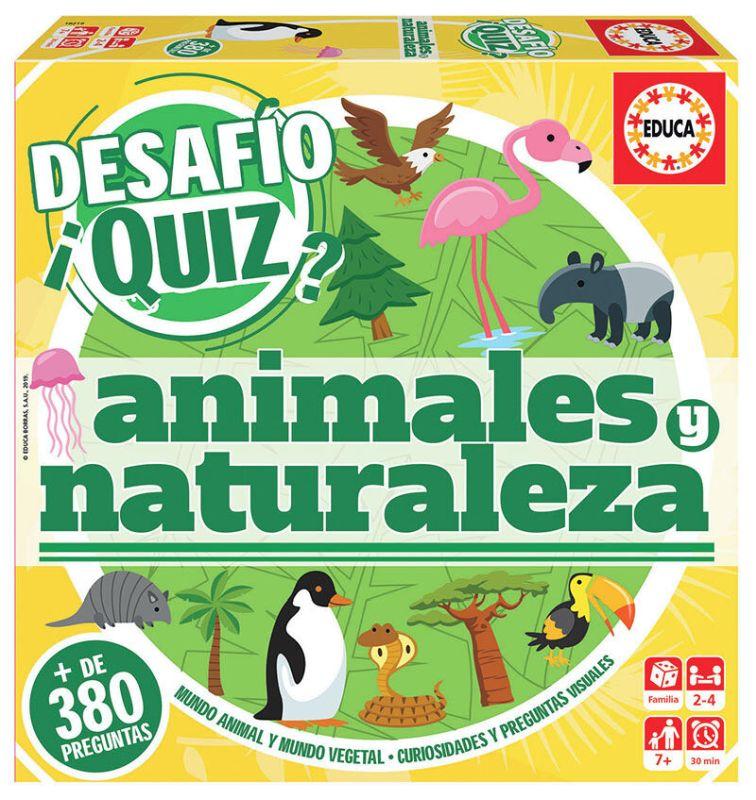 DESAFIO QUIZ * ANIMALES Y NATURALEZA R: 18219