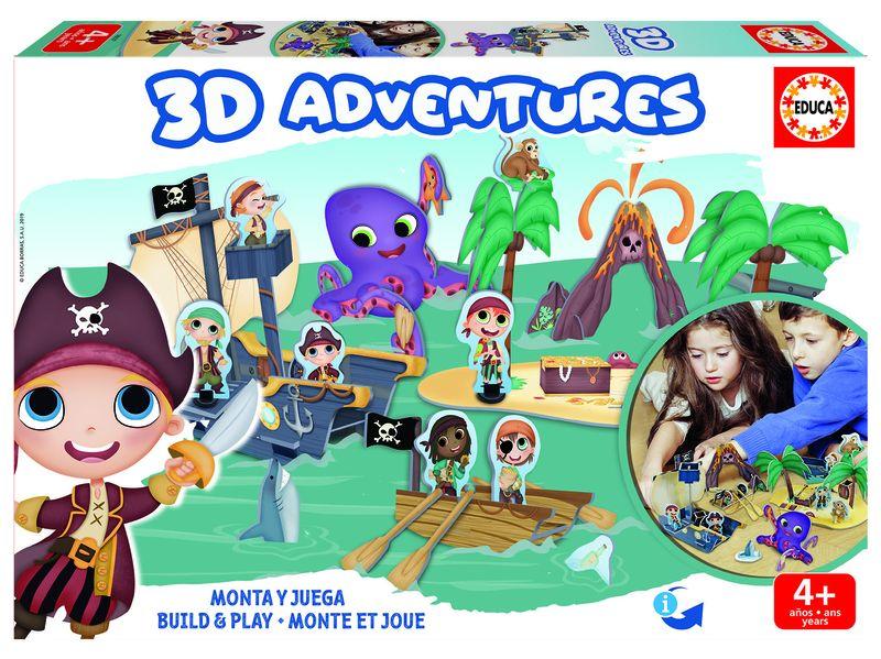 3D ADVENTURES * PIRATAS
