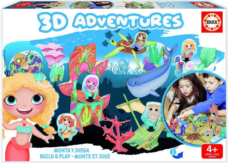 3D ADVENTURES * SIRENAS