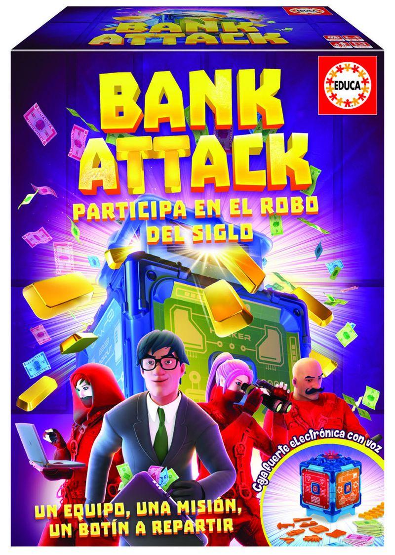 JUEGOS FAMILIARES * BANK ATTACK