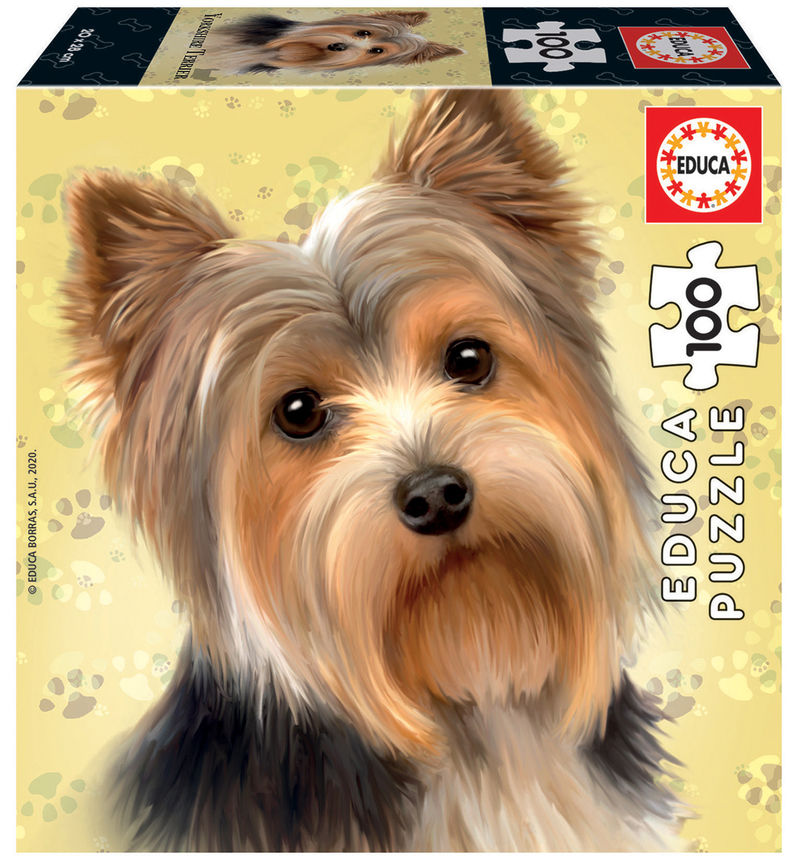 CUBE PUZZLE 100 * PERRO YORKSHIRE TERRIER