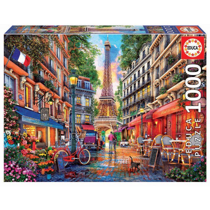 PUZZLE 1000 * PARIS, DOMINIC DAVISON