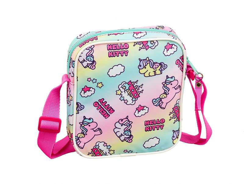 HELLO KITTY CANDY UNICORNS 19 - BOLSITO BANDOLERA R: 611916222