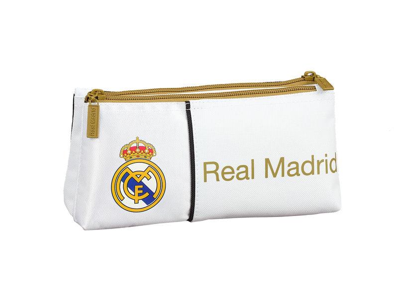 REAL MADRID 1ª EQUIPACION 19 / 20 * NECESER PEQUEÑO. DOBLE P