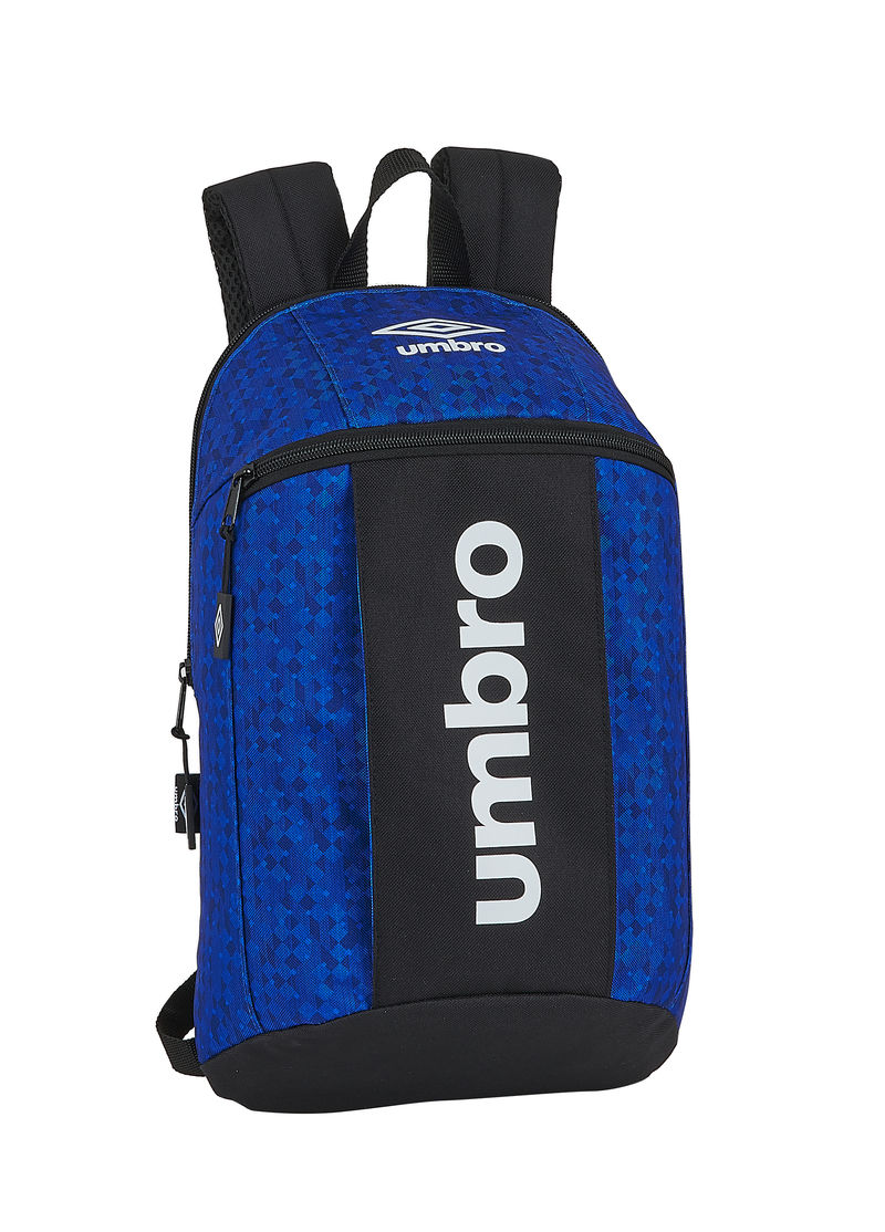 UMBRO BLACK & BLUE * MINI MOCHILA
