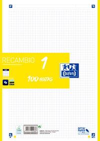 RECAMBIO A4 100H 5X5 LIMA R: 400106621