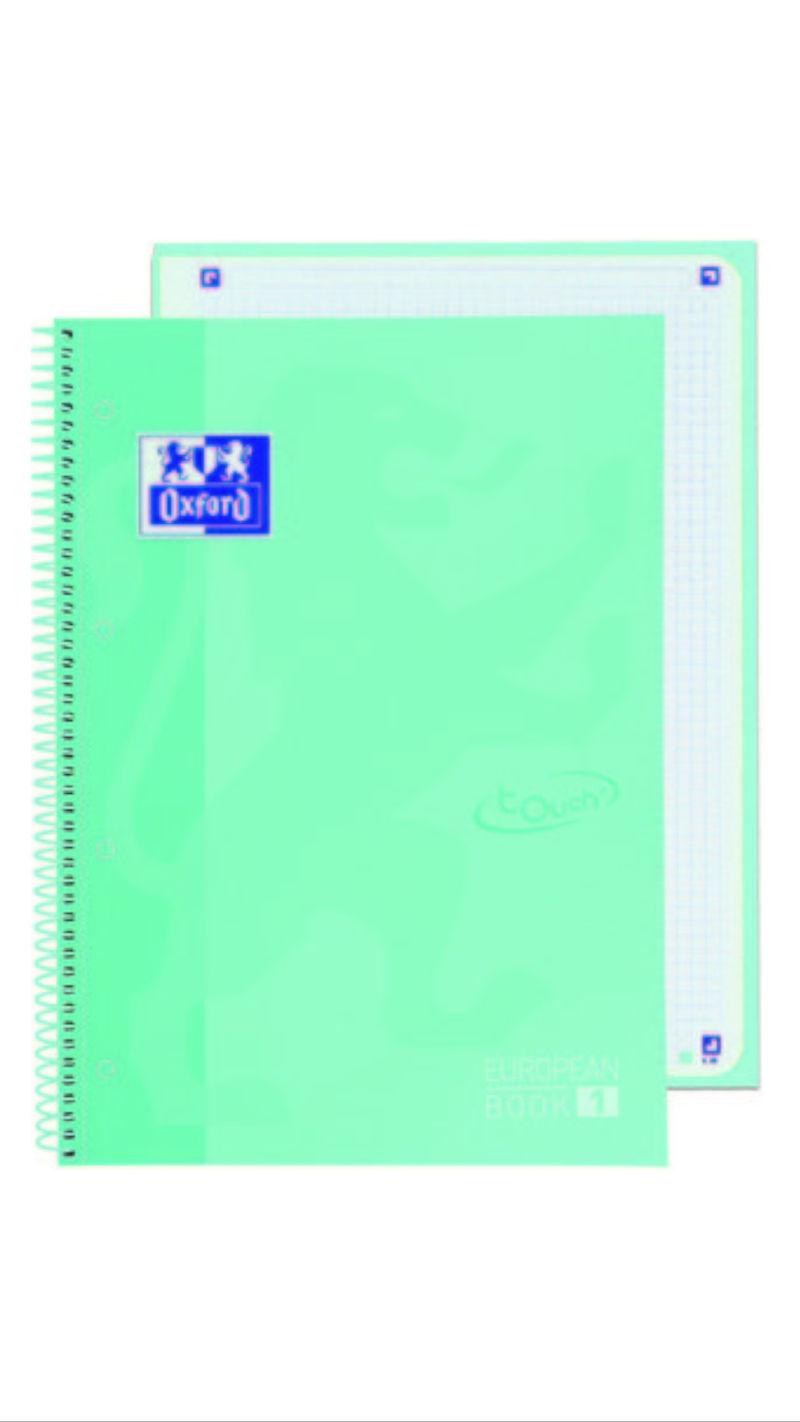 EBOOK 1 A4+ CUADR 5X5 TE 80H ICEM PLAST R: 400117274
