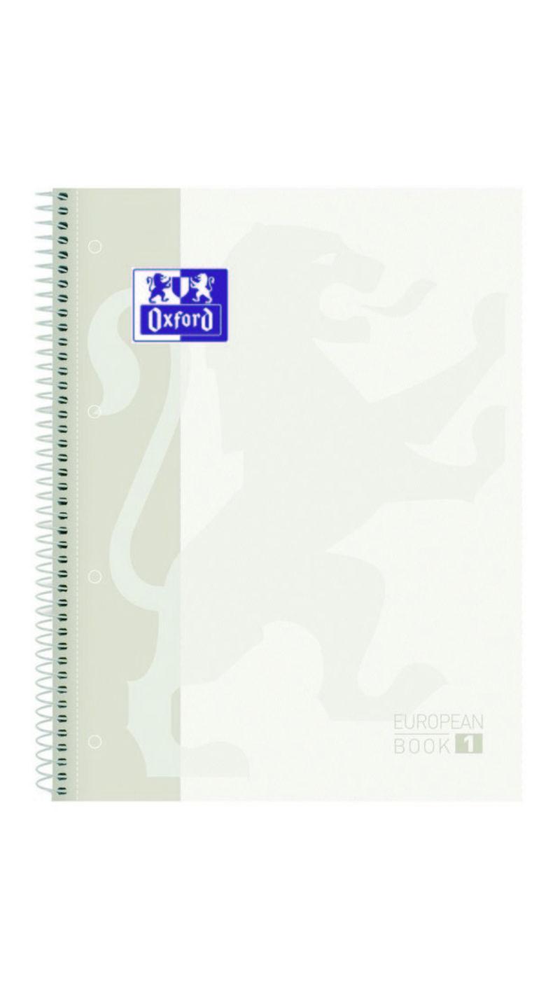 EUROPEAN BOOK 1 A4+ 80H CUAD.5X5 90GR BLANCO R: 400117449