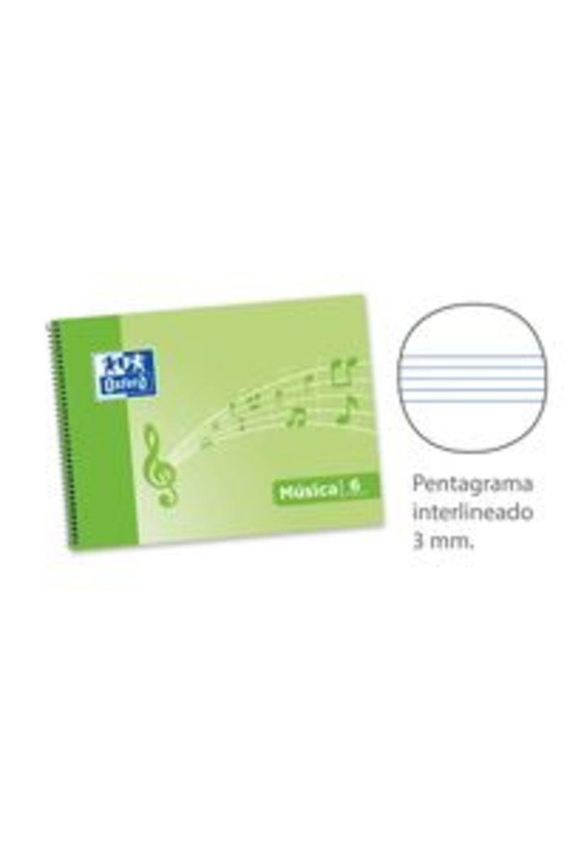 BLOC MUSICA ESP. 4º AP. 20H 6 PENTAGRAMAS INT 3MM T. BLANDA