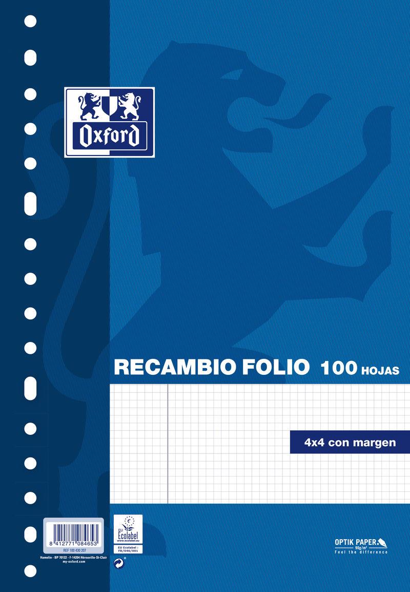 RECAMBIO F 100H CUAD.4X4 MULTITAL. OXFORD R: 100430207