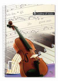 BLOC MUSICA Fº 20H 16 PENTAGRAMAS R: 18805