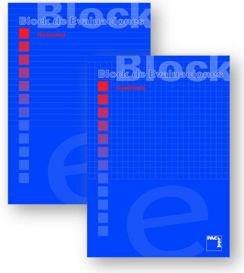 PAQ / 10 BLOCK DE EXAMEN A4 50H CUADRO 4X4 60GR