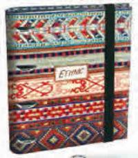 KATACRAK ETHNIC GIRLS 17 * CARPETA RINGBOOK EQUIPADA A5 R: 116507