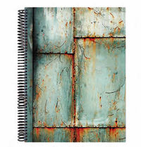 VINTAGE 17 * NOTEBOOK 195x260 RAY. 120H AHUESADO METAL R: 133112