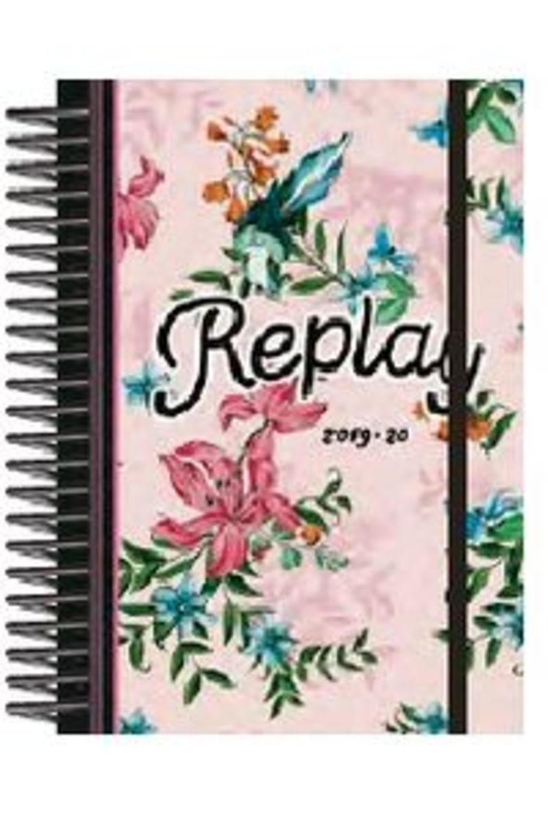 19 / 20 * AGENDA ESCOLAR D / P STUDENT REPLAY ESTAMPADO FLEXIBOOK