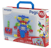 PEGS SET 15mm 160uds - MALETIN R: 31805