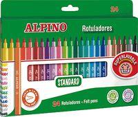 ROTUL. ALPINO 24 COLORES R: AR000003