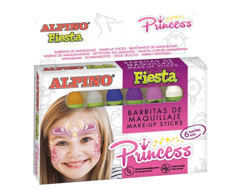 SET / 6 BARRAS MAQUILLAJE PRINCESS 5grs R: DL000112