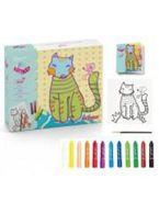 ART KID CAT FRIEND R: AK000006