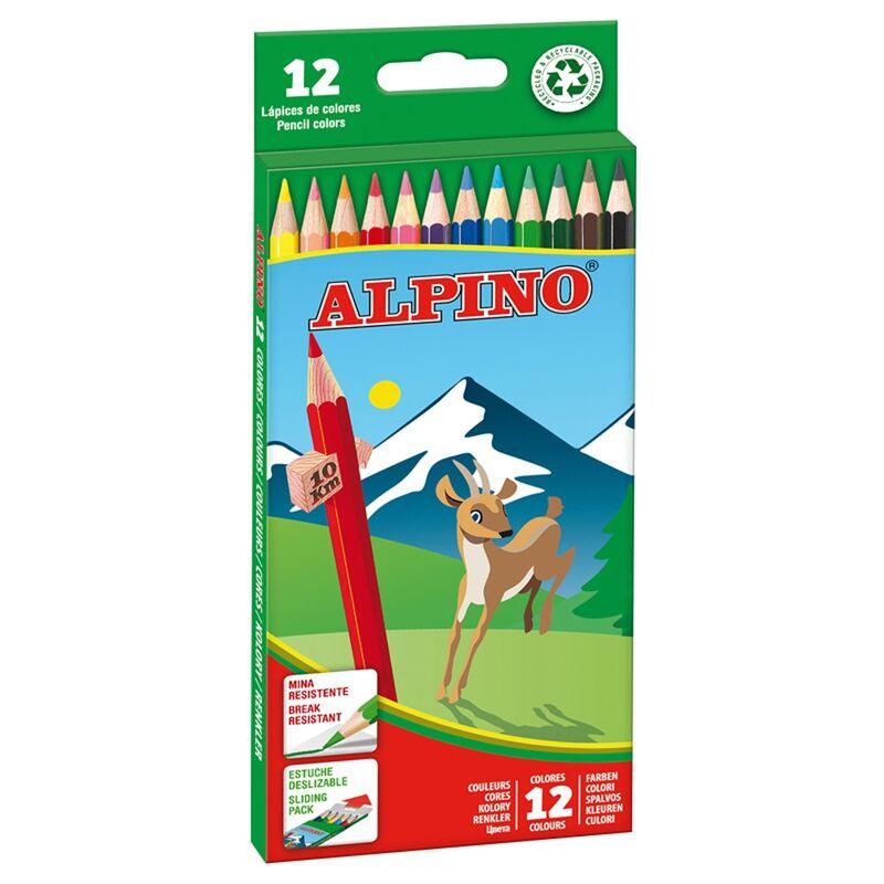 LAPICES ALPINO 12 COLORES R: AL010654