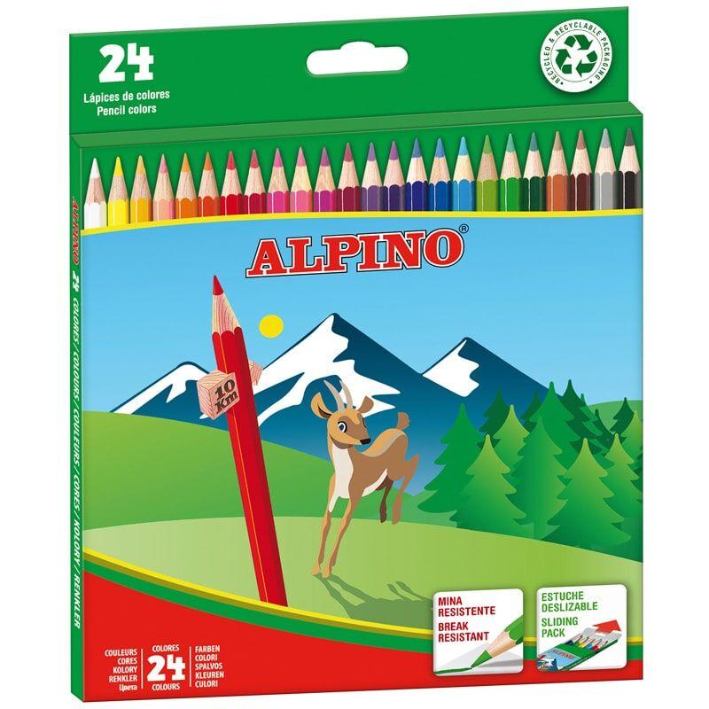 LAPICES ALPINO 24 COLORES R: AL010658