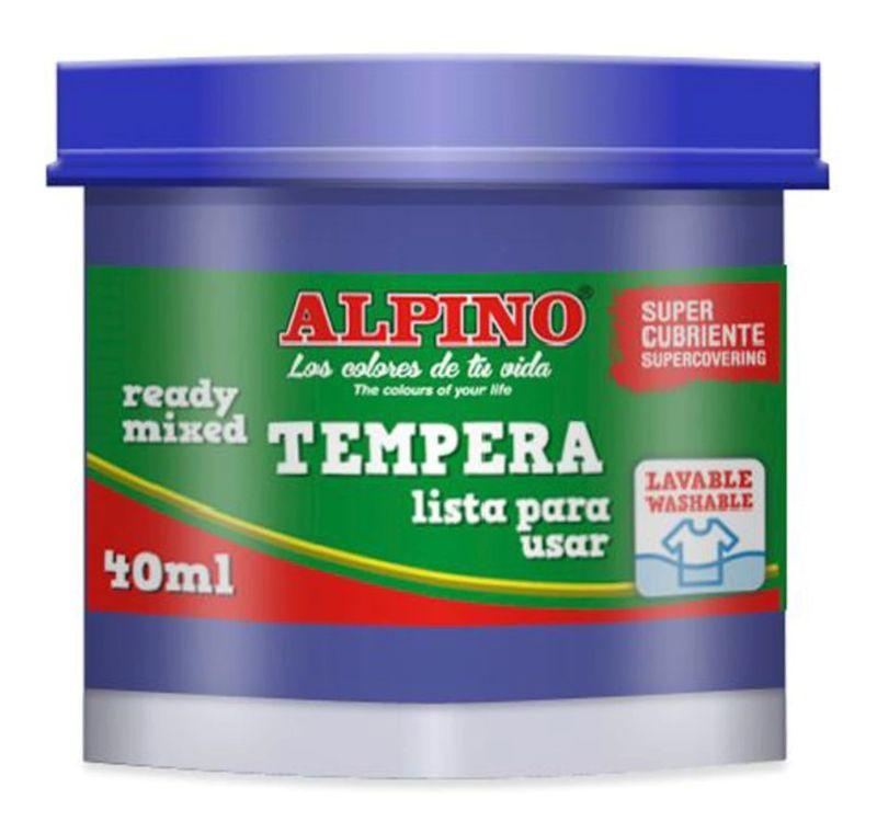 EST / 5 TEMPERAS ALPINO 40ML AZUL ULTRAMAR