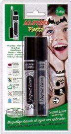 Blis / 2 Tubos Maquillaje Liquid Liner Blanco / Negro 6grs R: Dl010200 -