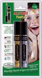 Blis / 2 Tubos Maquillaje Liquid Liner Oro / Plata 6grs R: Dl010201 -
