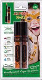 Blis / 2 Tubos Maquillaje Liquid Liner Naranja / Marron 6grs R: Dl010205 -