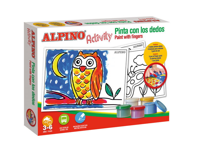 ALPINO ACTIVITY * PINTA CON LOS DEDOS R: AC000001