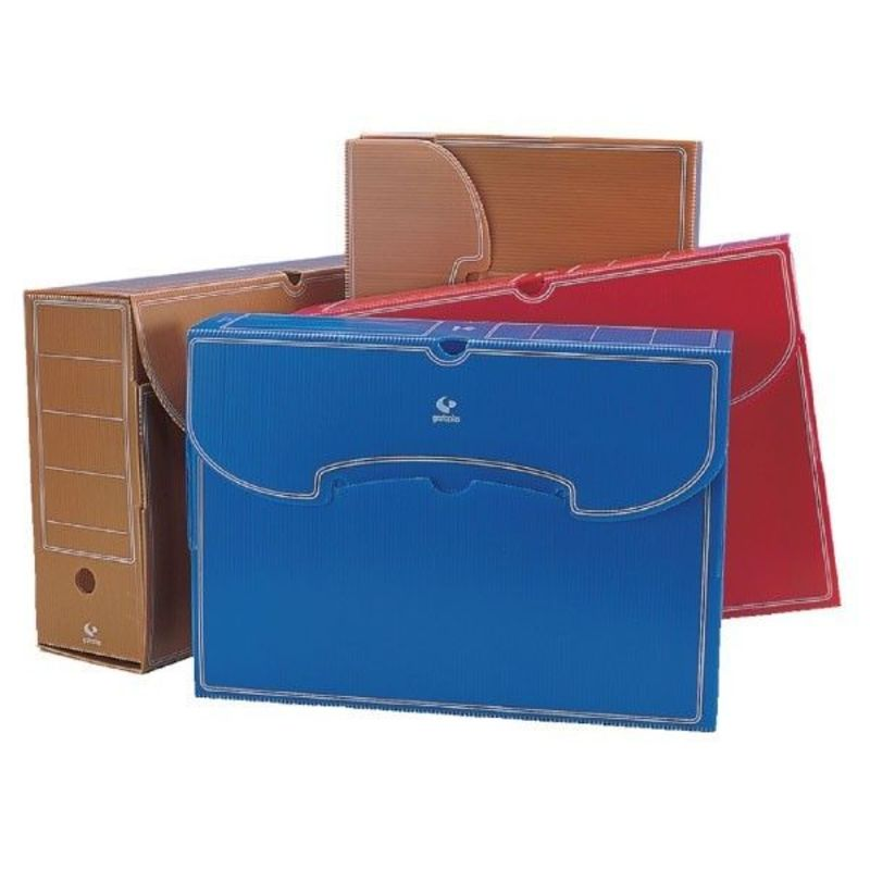 Caja Archivo Definitivo Folio Pp Azul R: 70907830 -