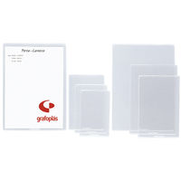 C / 40 FUNDAS 118X80MM PVC C / REBAJE R: 05652000