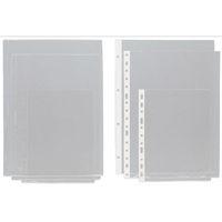 C / 100 FUNDA A4 S / TAL. PVC APERT. DIAGONAL R: 05750000