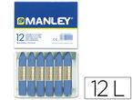 pinturas cera 12 barras azul ultramar r: 18 -