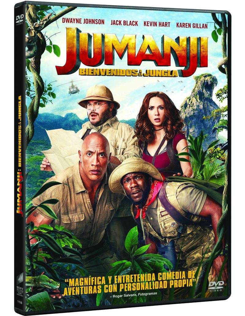 JUMANJI: BIENVENIDOS A LA JUNGLA (2 DVD)