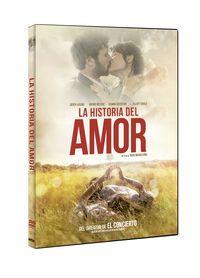LA HISTORIA DEL AMOR (DVD) * DEREK JACOBI, SOPHIE NELISSE
