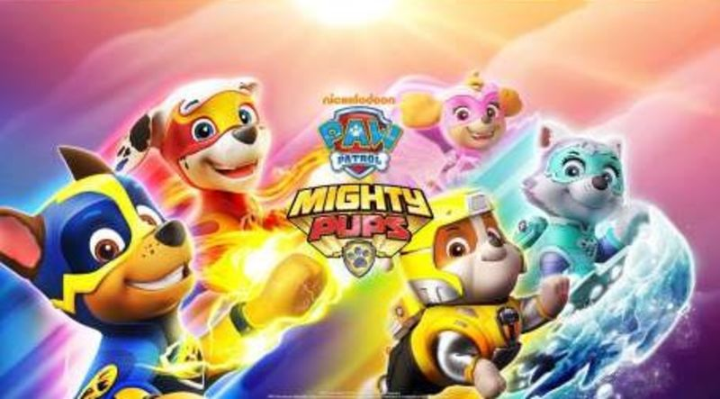 PAW PATROL 18: MIGHTY PUPS (DVD)