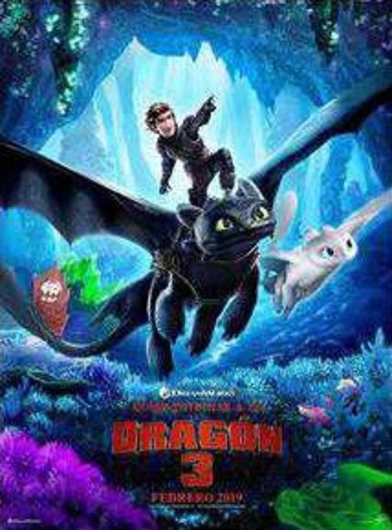 COMO ENTRENAR A DRAGON 3 (DVD)