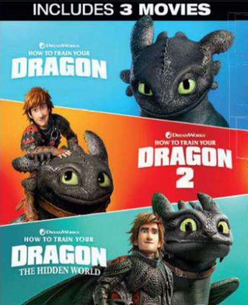 COMO ENTRENAR A DRAGON 1-3 (DVD)