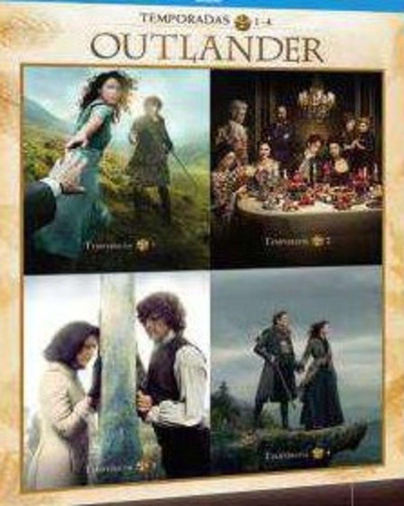 OUTLANDER, TEMPORADA 1-4 (DVD) * JIM CAVIEZEL, SOPHIA MYLES