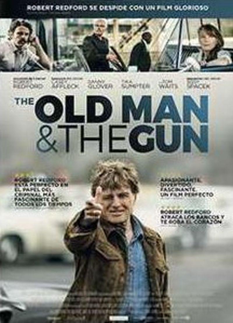 THE OLD MAN AND THE GUN (DVD) * ROBERT REDFORD, SISSY SPACEK